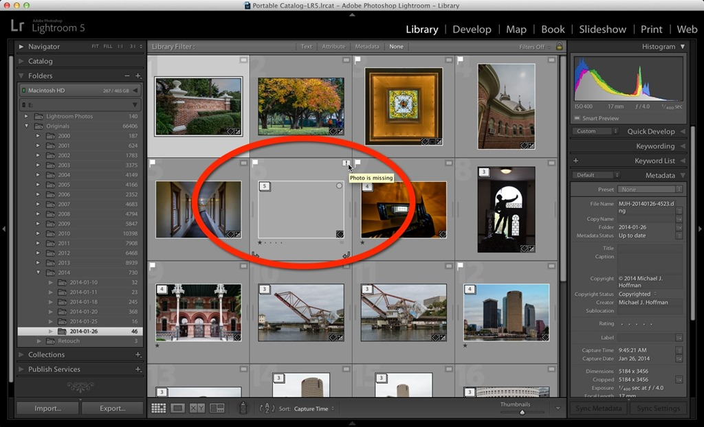 Lightroom delete catalog previews