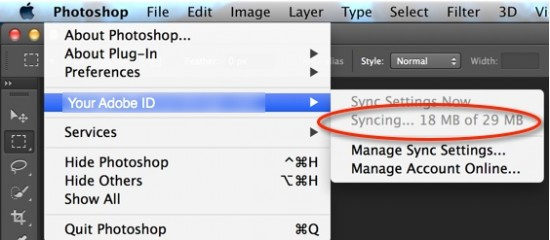 Sync Photoshop Settings 03