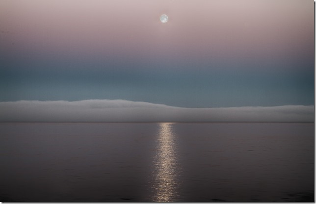 Full Moon Over Fogbank