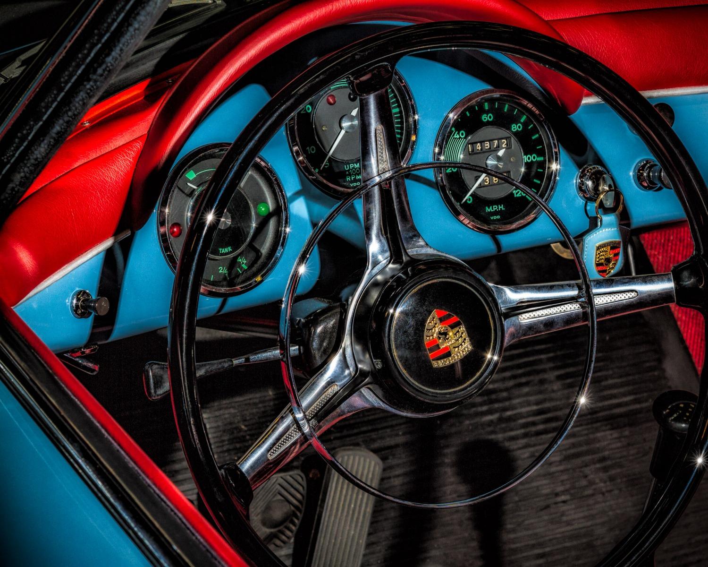 An Old Porsche