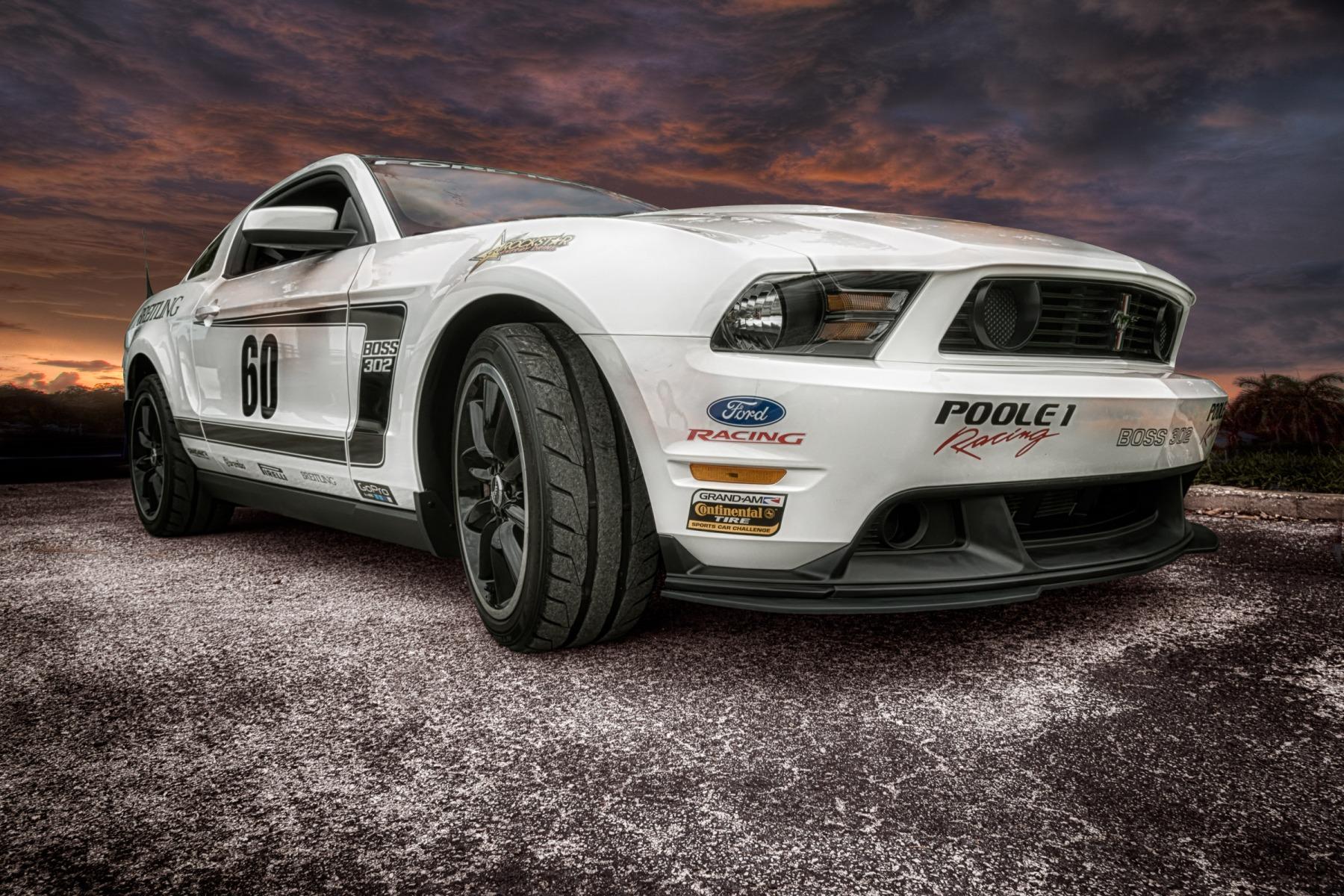 Poole Racing Mustang